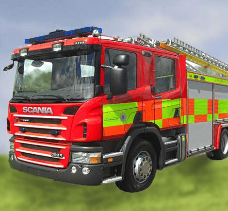 Emergency One Fire Engine
